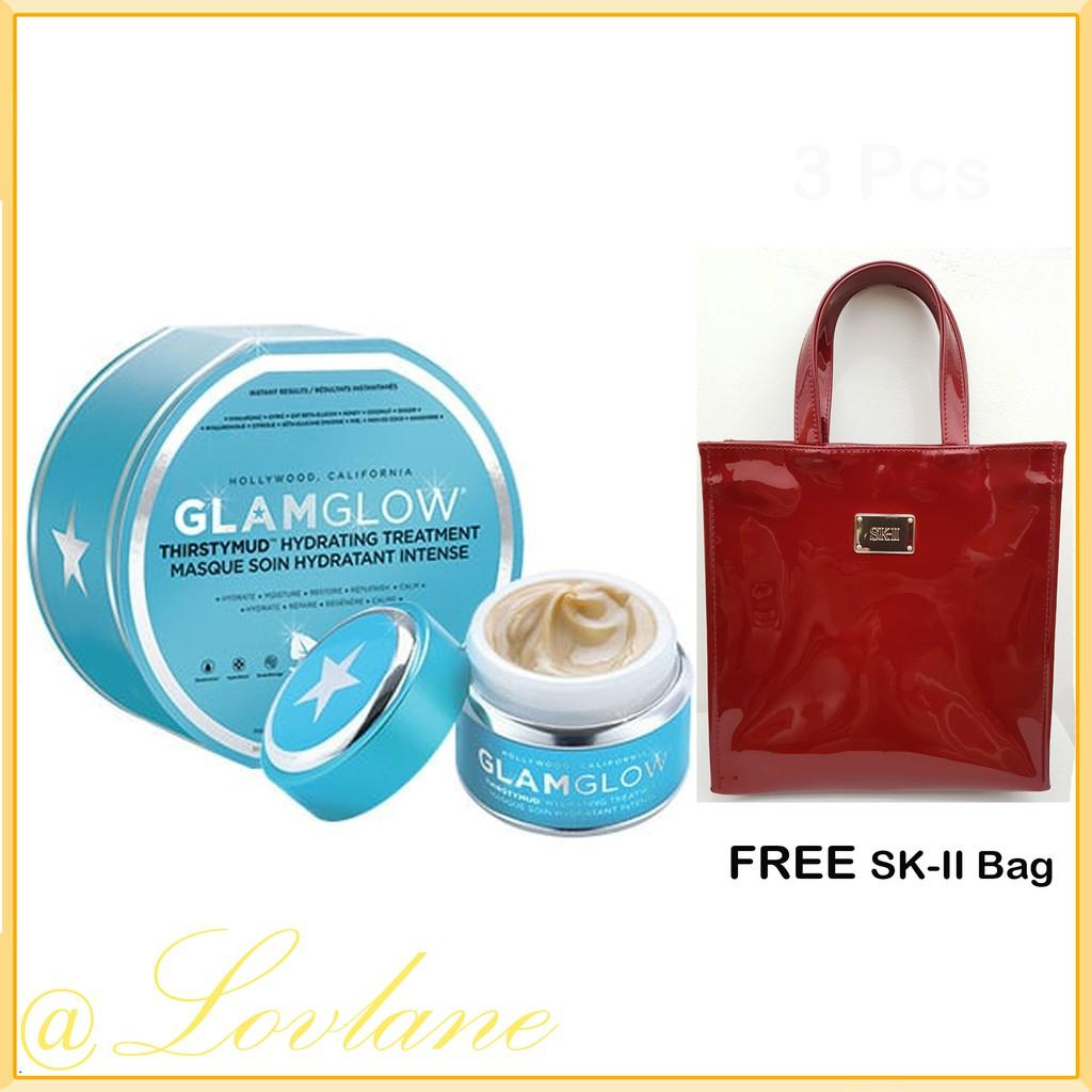 Buy Sell Cheapest Glamglow Original Youthmud Best Quality Product Gravitymud 50 Gr Thirstymud Hydrating Treatment 50gr