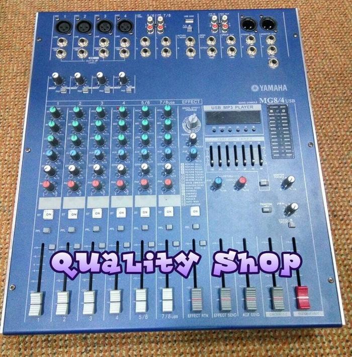 ORIGINALS Power mixer yamaha mg8-4 usb 8 channel 900 watt