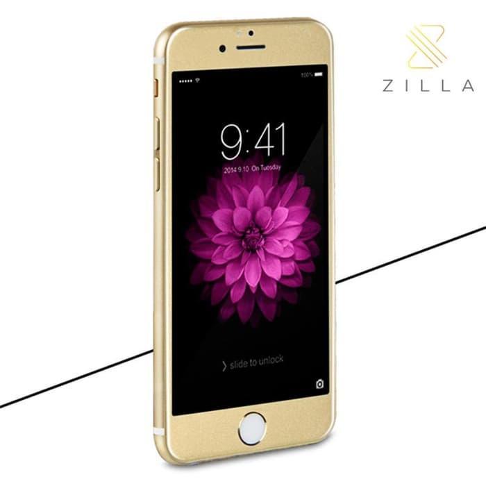 Promo  Zilla 3D Carbon Fiber Tempered Glass Full Screen iPhone 6/6s Plus terlaris
