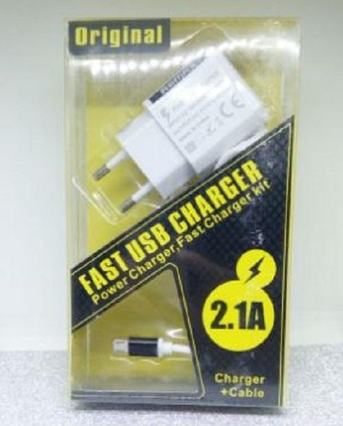 Charger For Remax Fast Charging 2,1A Micro USB Charger Charging - Bisa Untuk Vivo V1 V3 V9 V7 V7+ V