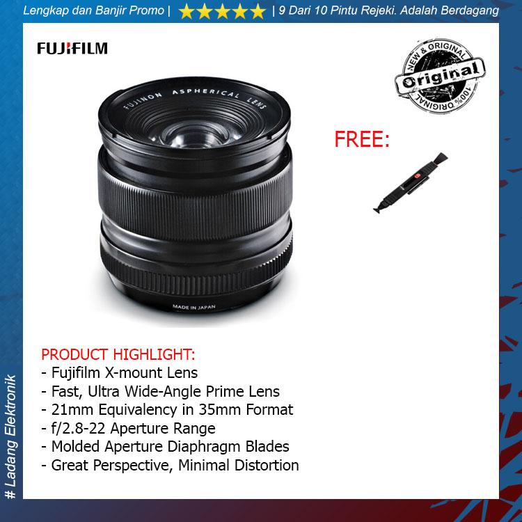 Fujifilm XF 14mm f2.8 R Lensa Kamera ( Free Lenspen Pembersih Lensa ) / Garansi Distributor 1 Tahun
