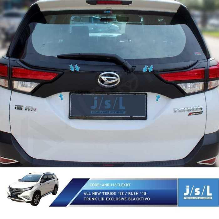 JSL Lis Bagasi Hitam All New Terios 2018 Trunk Lid Exclusive Blacktiv | Car
