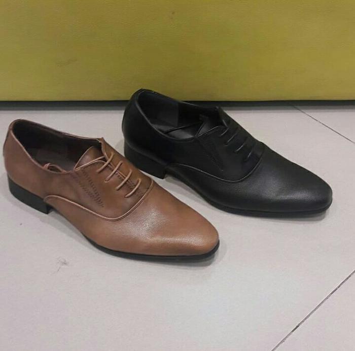 Sepatu Pria EVERBEST ORI Murah / SALE / BLACK / Man Shoes / Pantofel - xKOGYH