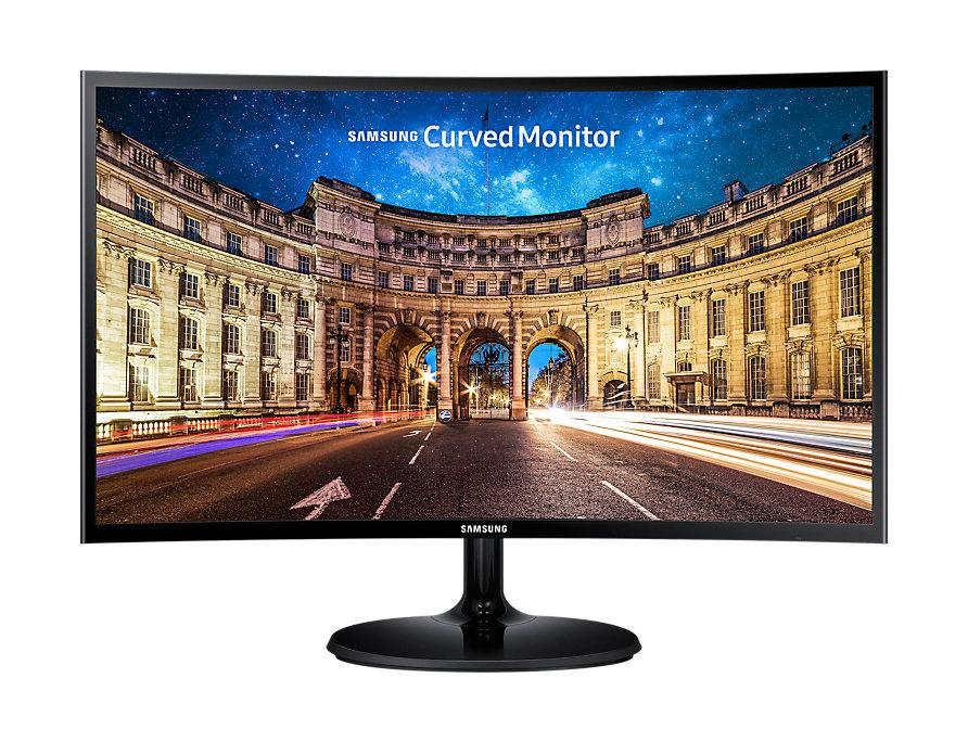 SAMSUNG LED Monitor Curved 24 Inch LC24F390FHE