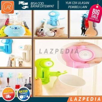 Beli sekarang Laz COD - Gantungan Powerful Suction Cup Hook Hanger For Kitchen / Random - Lazpedia / B123 terbaik murah - Hanya Rp30.062