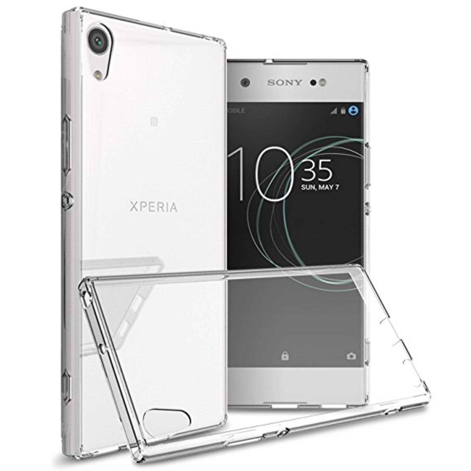 LOLLYPOP Ultrathin TPU Jelly Sony Xperia Xa Ultra - Clear/Transparant Softcase Silicone Backcase Backcover Case HP Casing Handphone