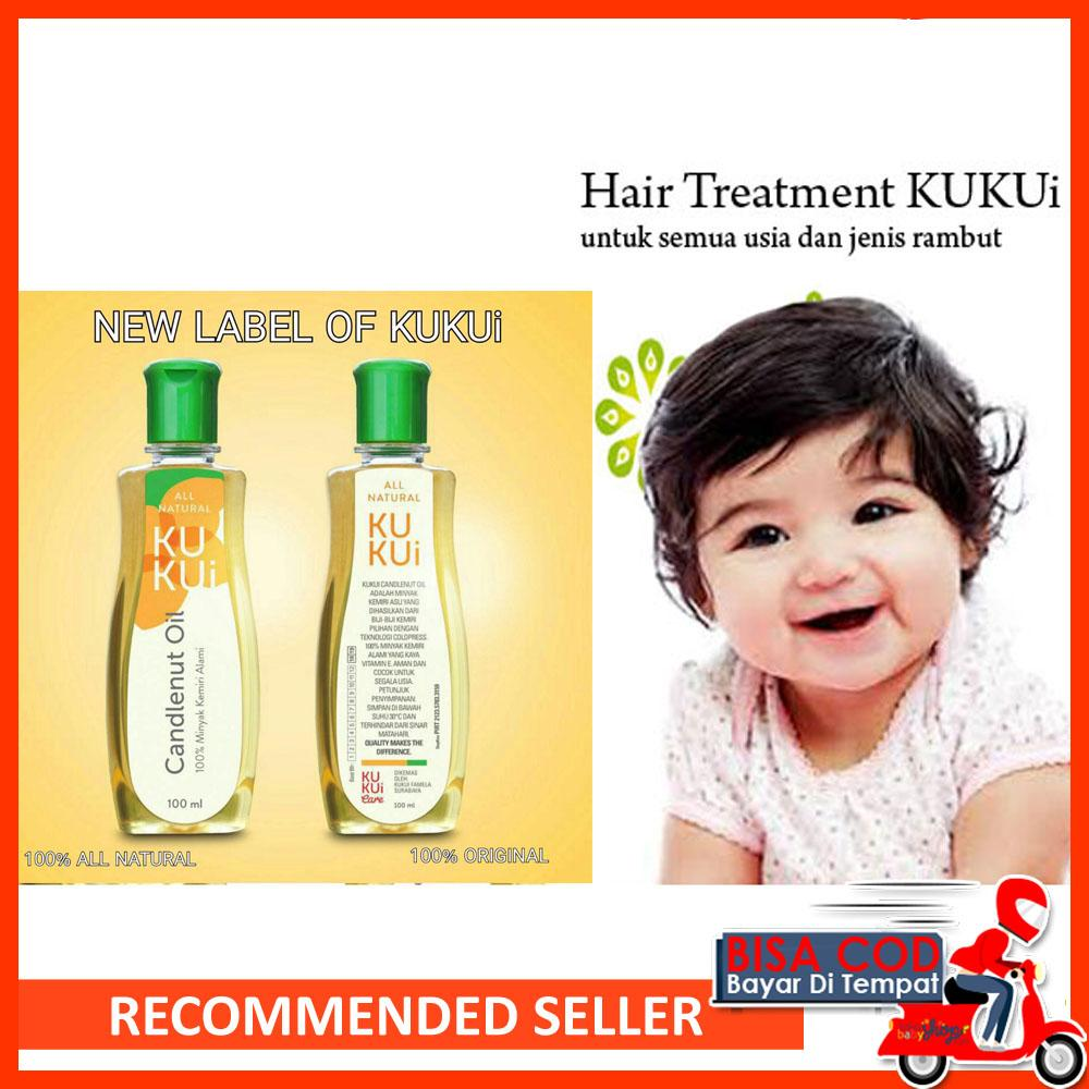 [ Bisa Cod / Bayar Di Tempat ] Minyak Kemiri Kukui Asli Original Hair Treatment 100 Ml Candlenut Oil By Tokobabyshop.