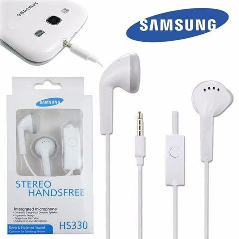 Headset Stereo With Mic Samsung Non Karet Hs330