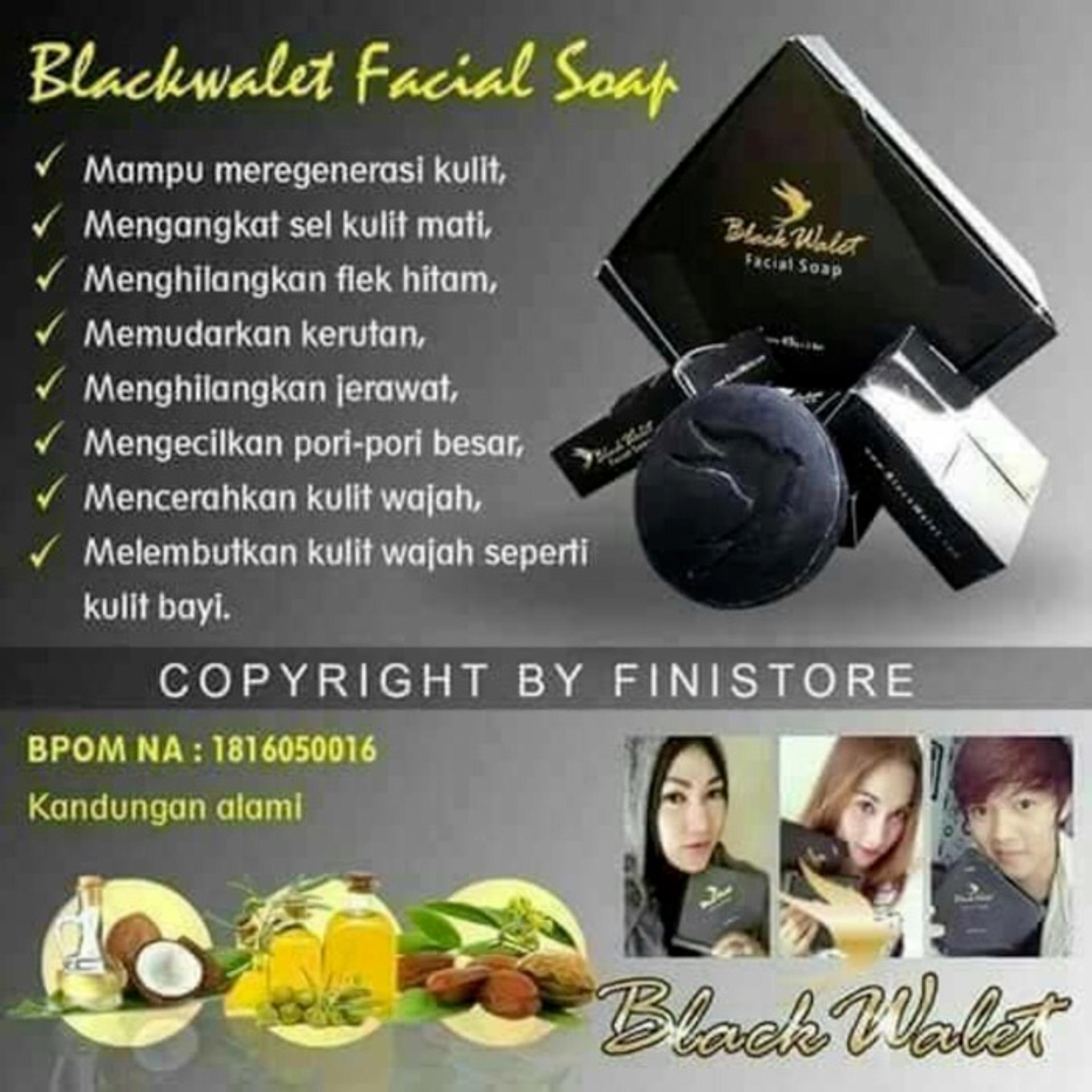 ECER BLACK WALET SOAP BOX DIAMONT sabun walet hitam asli bpom