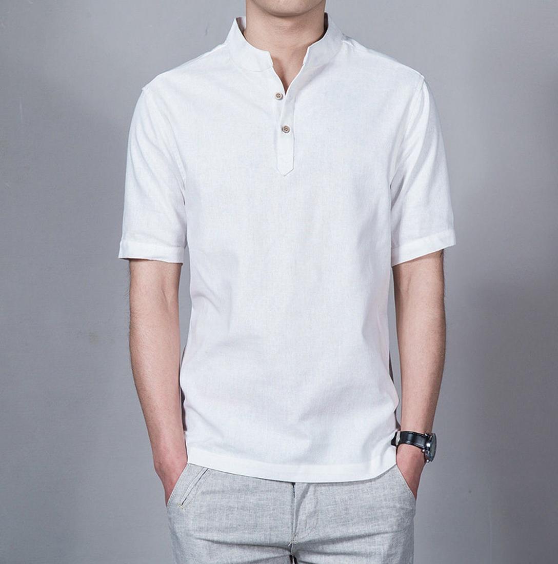 koko Lazuardi bermerek Tangan Pendek Warna Putih Distro Bandung Fashion Pria Keren Terbaru Nyaman di Pakai Simple Eleghan Tersedia 8 warna DISKON