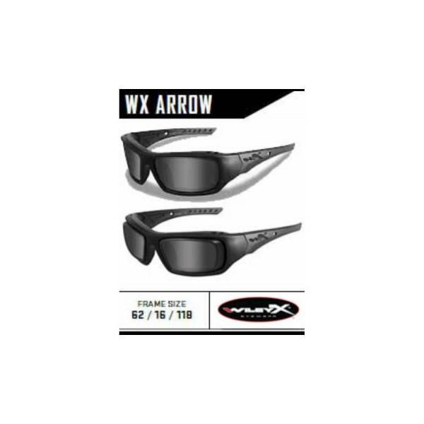 Kacamata Safety Minus Wiley Arrow Dengan Rim Adapter