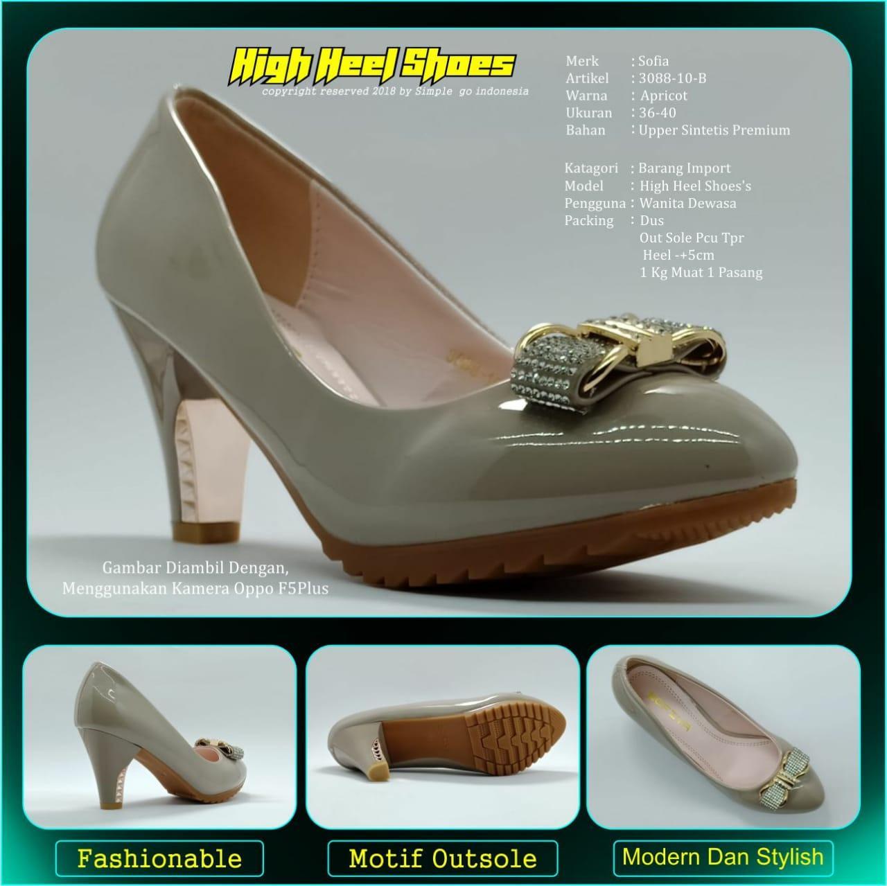 Sepatu wedges wanita Sofiya 3088 10 36-40