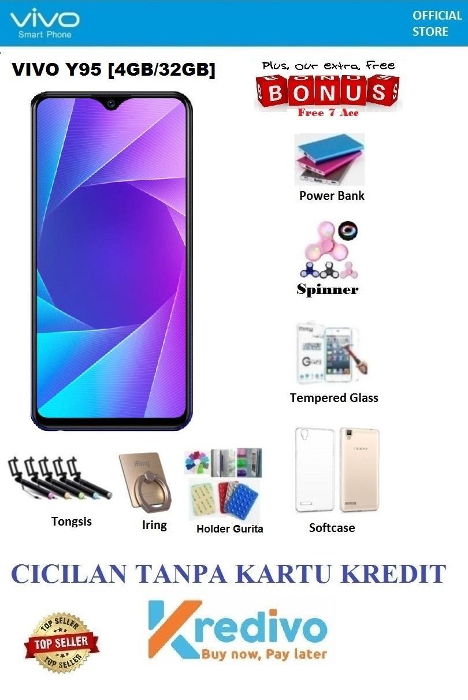 Vivo Y95 Ram 4GB/32GB - Cicilan Tanpa Kartu Kredit + Ekstra Bonus 7Acc