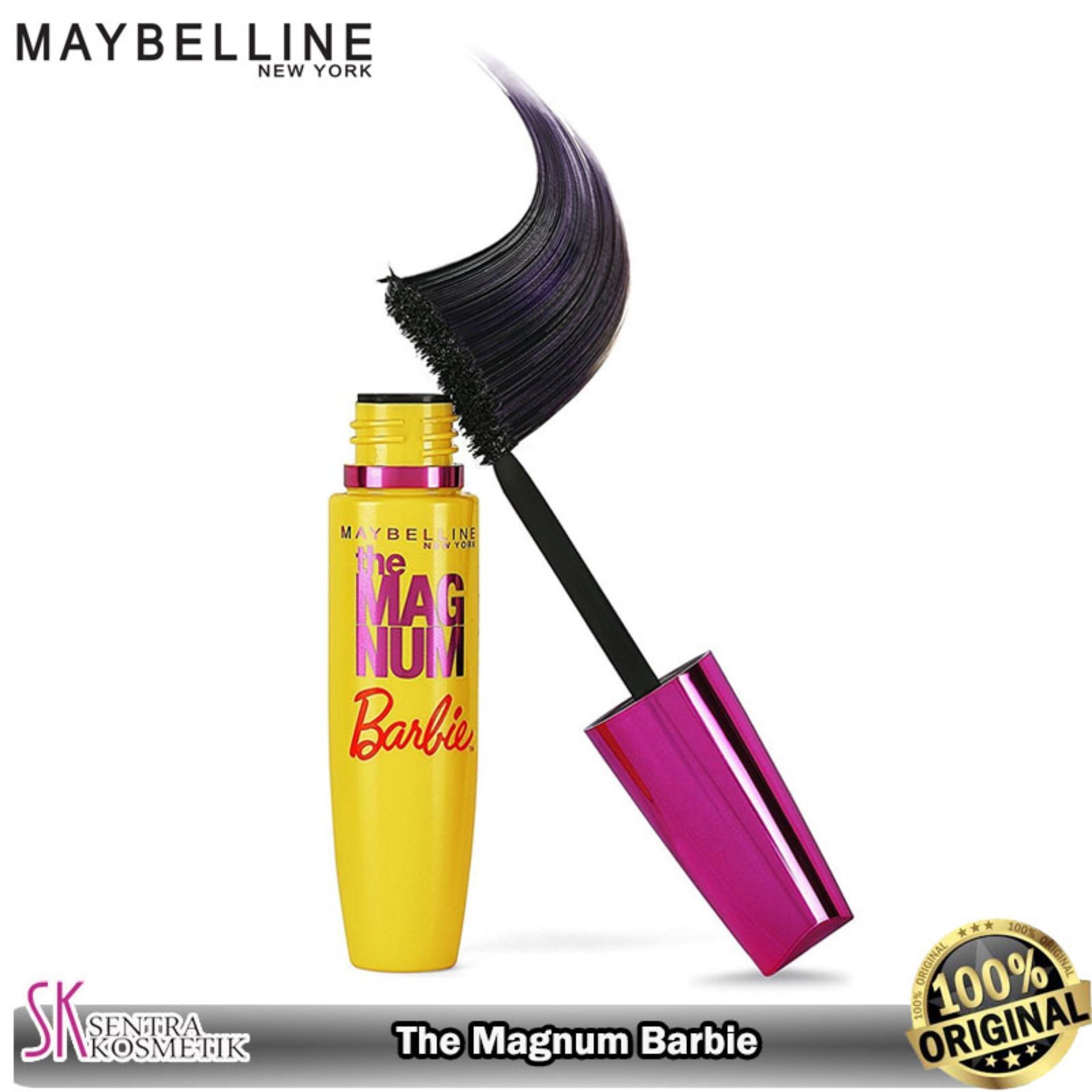 MAYBELLINE The Magnum BARBIE Mascara Waterproof - Hitam