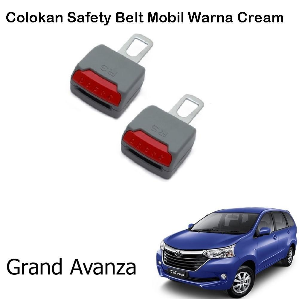 Isi 2 Pcs Colokan Safety Belt Mobil Grand Avanza