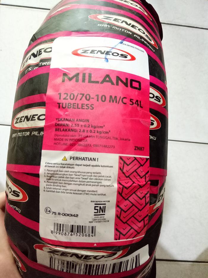 Ban Motor ZENEOS Milano 120 70 10 VESPA