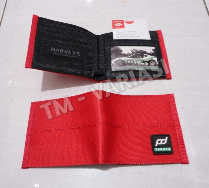 Best Seller!! Dompet Jdm Fd Harveys Takata Merah Takata Wallet Import - ready stock