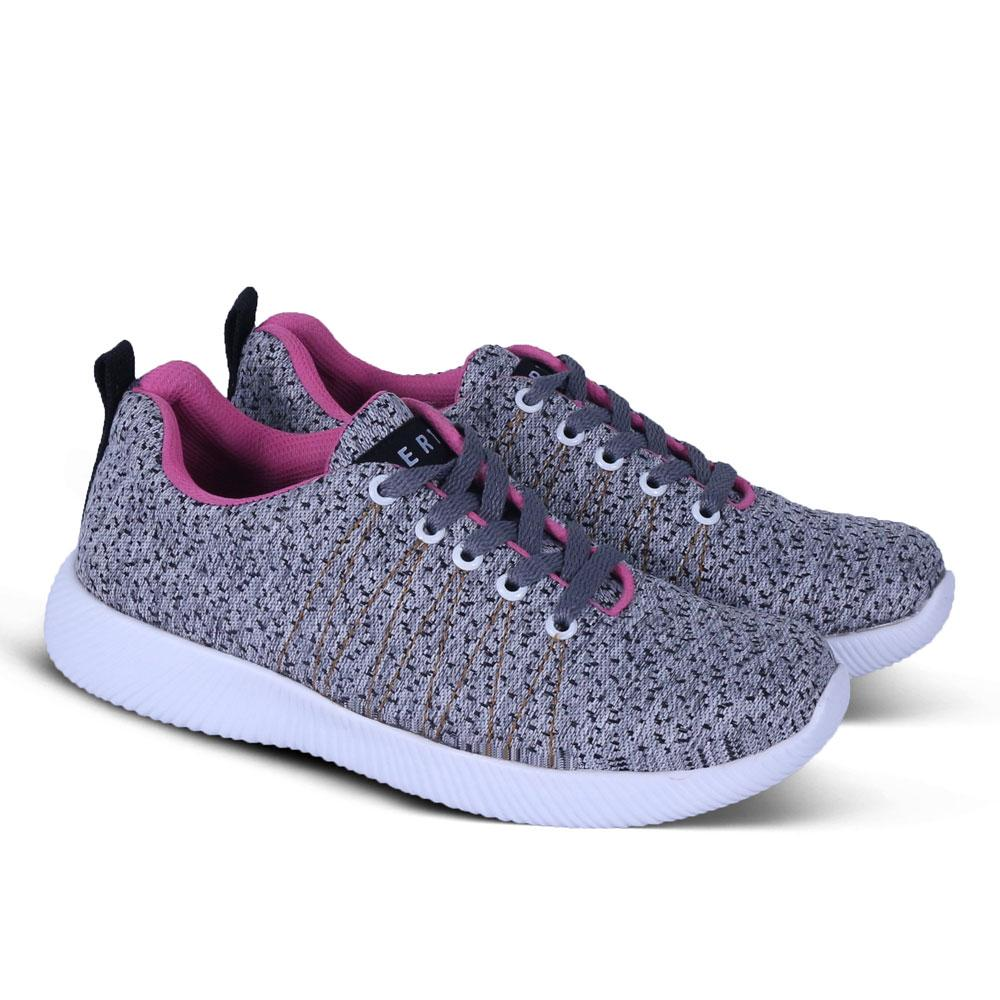 Sepatu Sneakers Wanita Hertz 2027 Sepatu Kets Sport dan Kasual untuk olahraga lari jalan santai sekolah kuliah kerja,