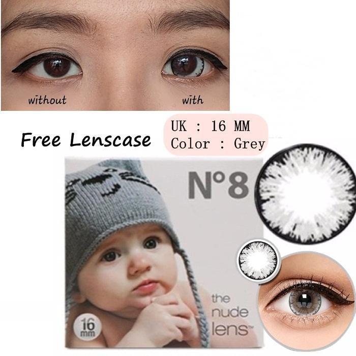 JBS Softlens Ice N8 The Nude Lens - Grey