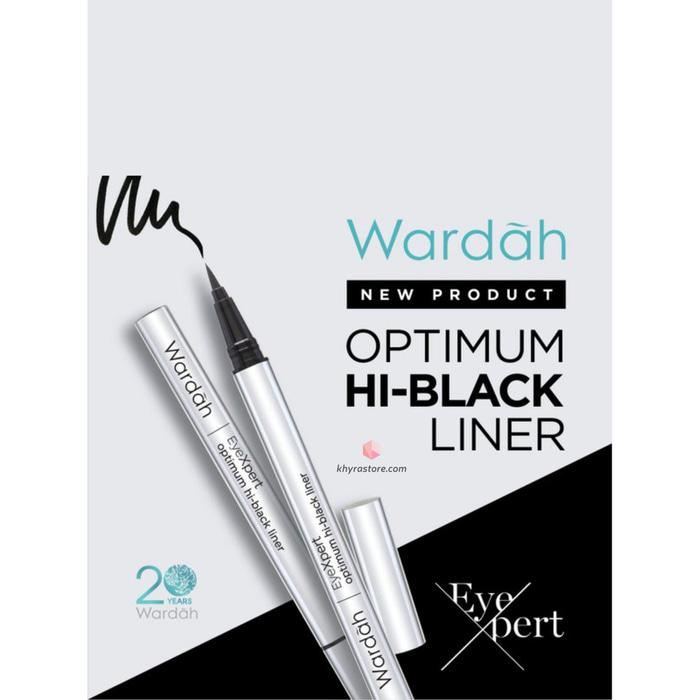 Promo - Wardah EyeXpert Optimum Hi-Black Liner - Eyeliner Spidol