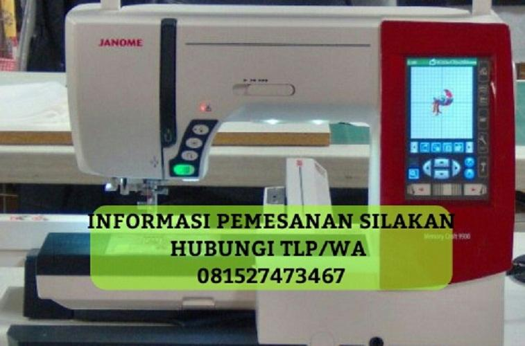 Janome Memory Craft 9900 Mesin Jahit + Bordir Komputer dan Quilting Portable