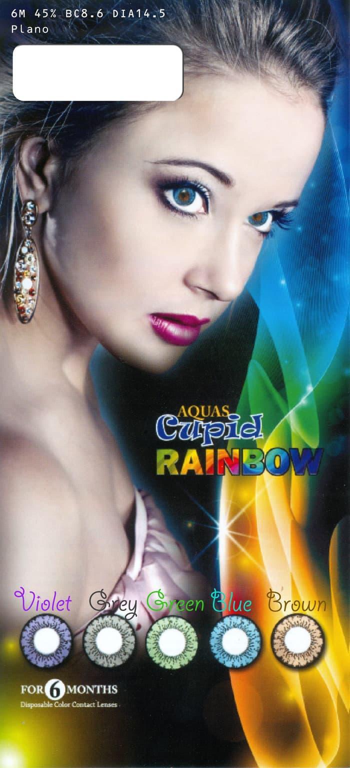 Promo - Softlens Cupid Rainbow Original