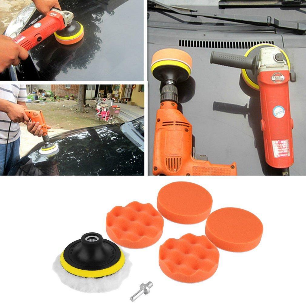 ... Polishing Pad Kit untuk penggosok mobil Source · Catwalk 7 Pcs 4 Inch Spons Poles Penyangga Bantalan M10 Bor Adaptor Perlengkapan untuk Mobil Otomatis