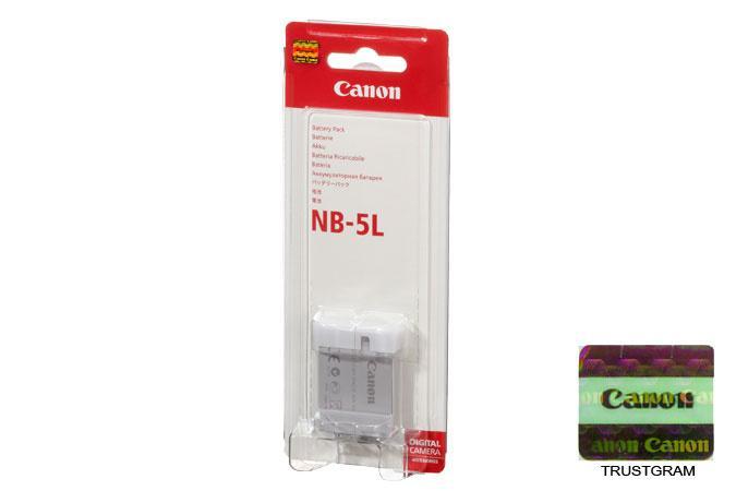 Battery Canon NB-5L ( Canon S100, SX200, SX210, SX230, IXUS 800) TERLARIS