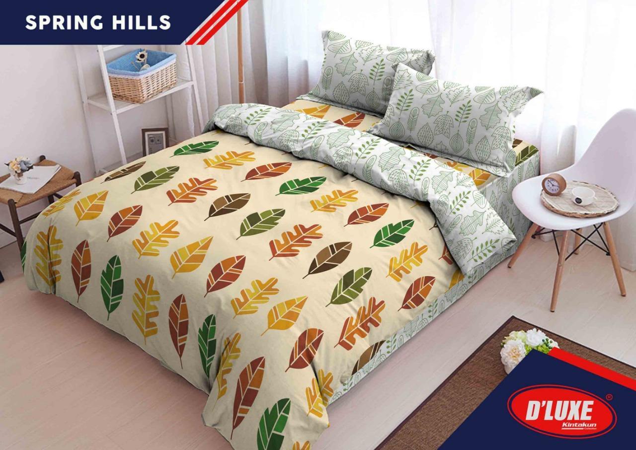 Sprei Kintakun D'Luxe King Size NEW Edition Uk. 180x200cm - Spring Hills