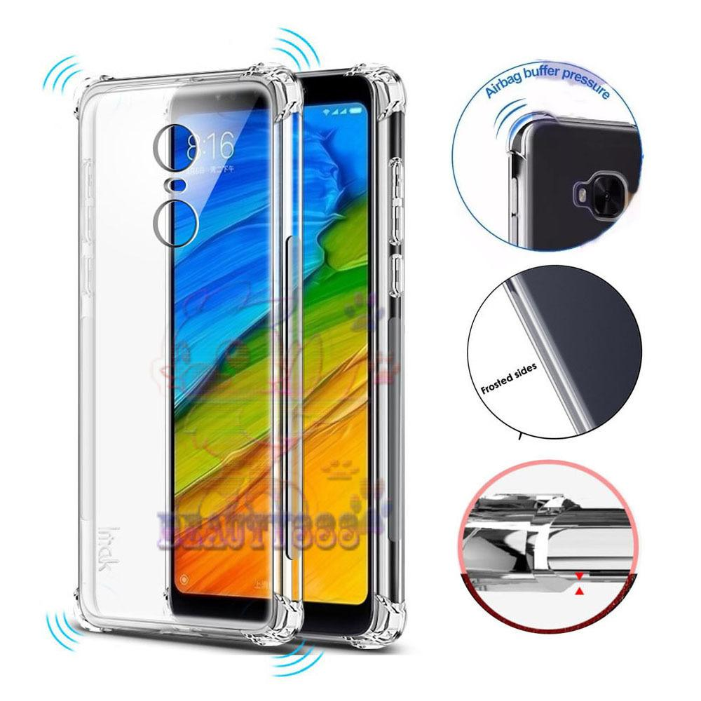 Beauty Case Xiaomi Redmi 5 Plus Ultrathin Anti Shock / Anti Crack Luxury Softcase Anti Jamur Air Case 0.3mm / Silicone Xiaomi Redmi 5 Plus / Soft Case / Silikon Anti Crack / Case Xiaomi Redmi 5 Plus - Putih Transparant