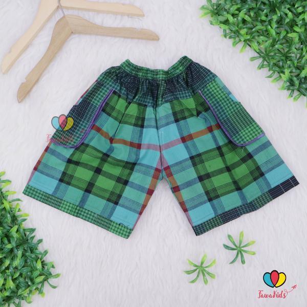 Promo Celana Pendek Celana Hawai Rayn Uk 2-3 Th - Grosir 11 Ribu Min 3 Pc- Celana Pendek Anak Pants