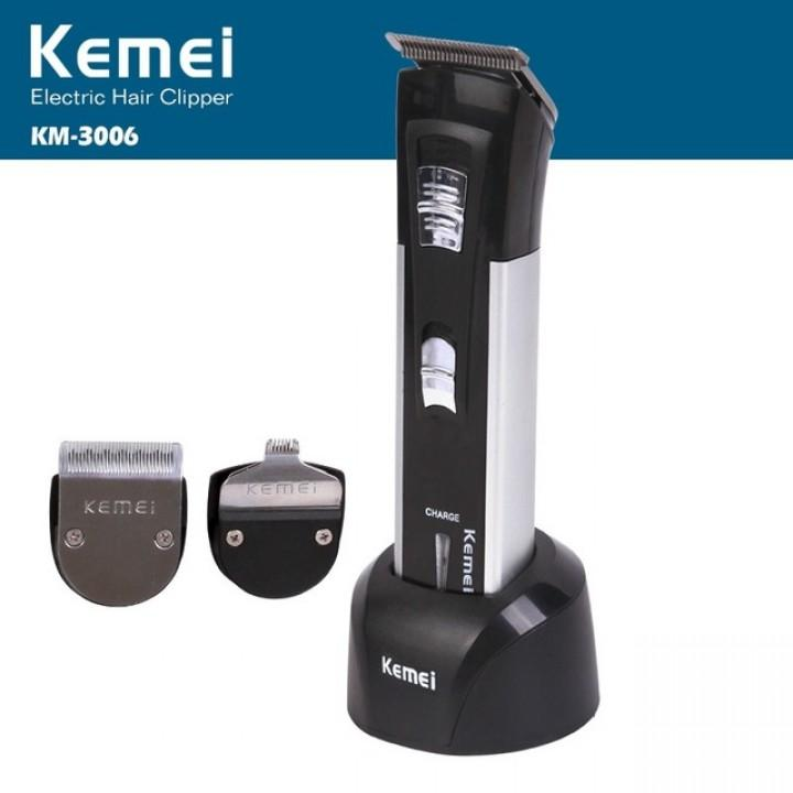Alat Cukur Rambut Kemei Rechargeable Hair Clipper Km-3006 By Okeshop41.
