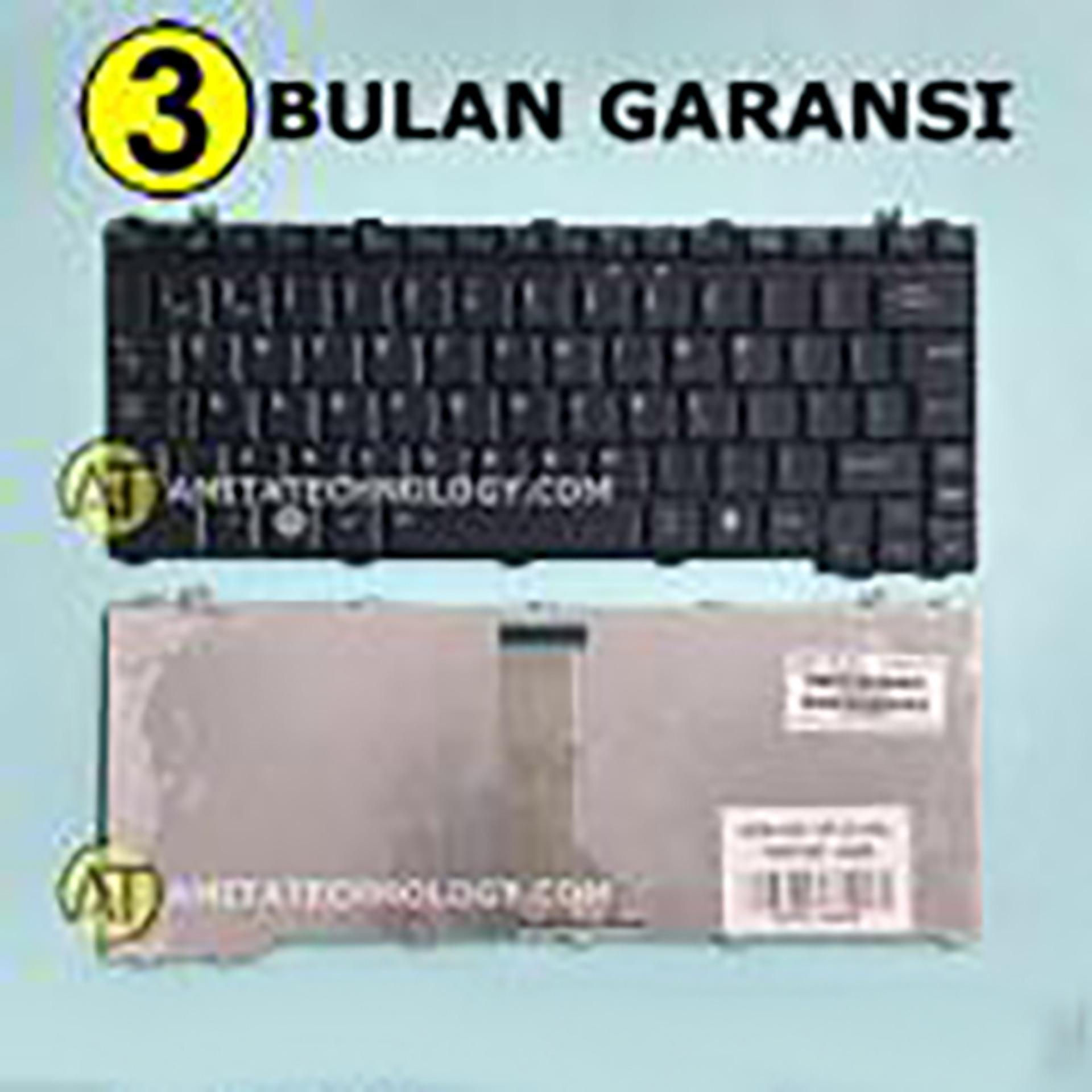 Amita - Keyboard Laptop ORIGINAL Toshiba U400 U500 M300 M800 T130 T135 A600