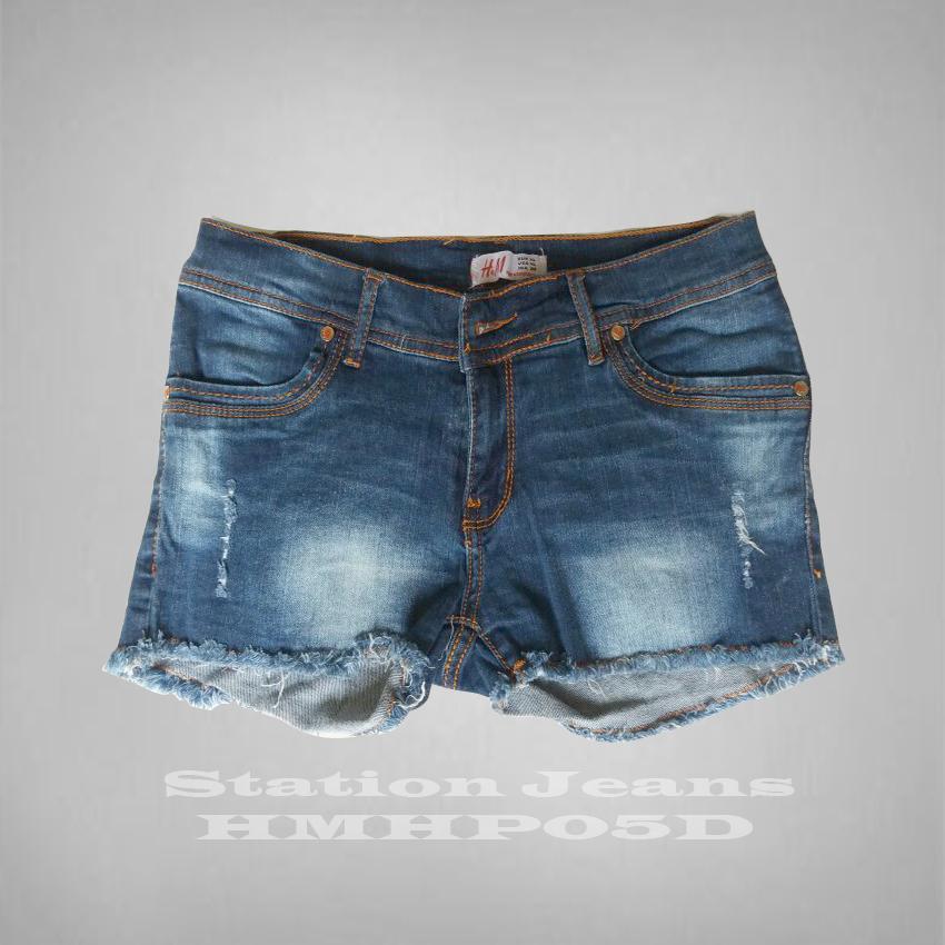 Celana Wanita Dewasa - Celana Jeans Hot Pants fit Skinny Straitch Lentur - Best Seller