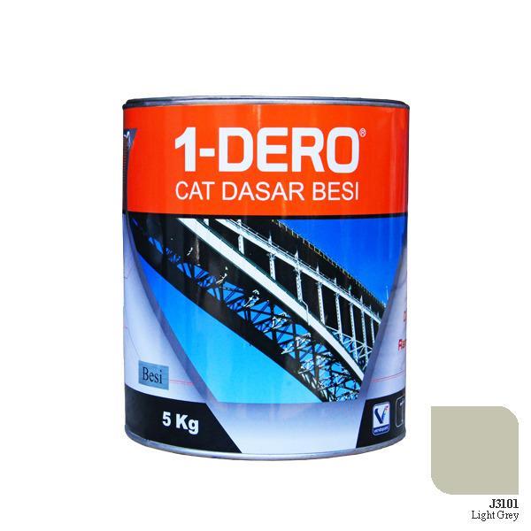 1-DERO, CAT DASAR BESI / ZINC CHROMATE, LIGHT GREY, 5 KG