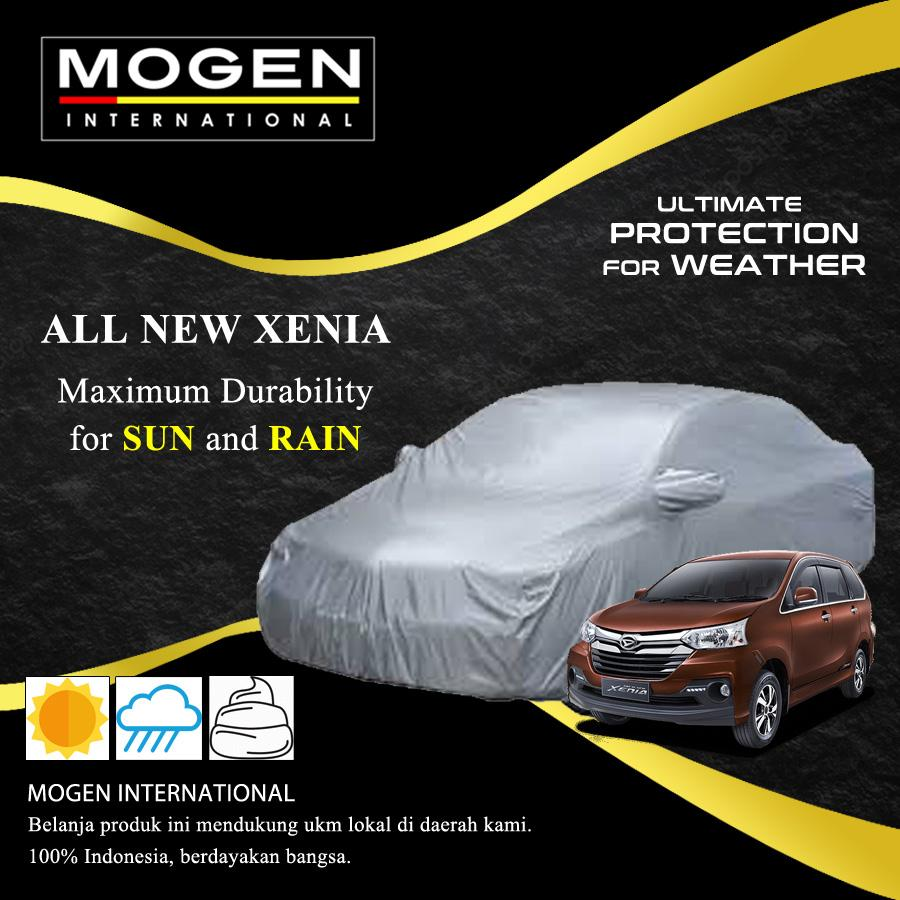 Cover Mobil / Body Cover ALL NEW XENIA Waterproof / Sarung Mobil Silver