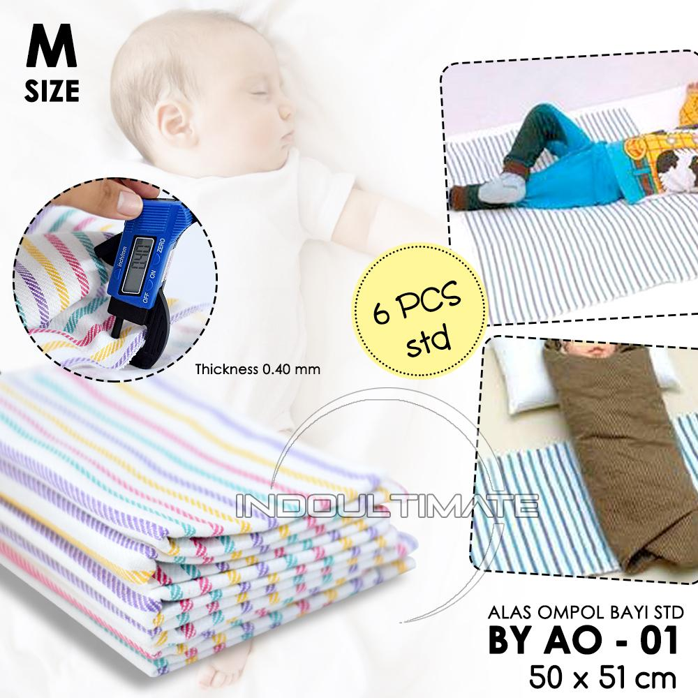 The Cheapest Price Perlak Alas Ompol Karpet Underpad Bayi Motif Baby 6pcs Strip By Ao 01 Ukuran M 50 X 51 Cm Kain Diapers Tatakan Popok Perlengkapan