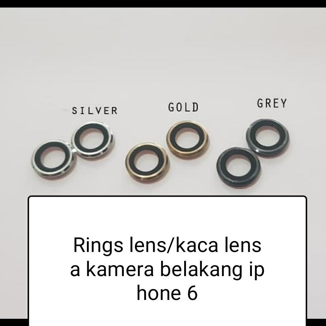 Ring Lens / Kaca Lensa Kamera belakang Iphone 6 Plus / 6+Original
