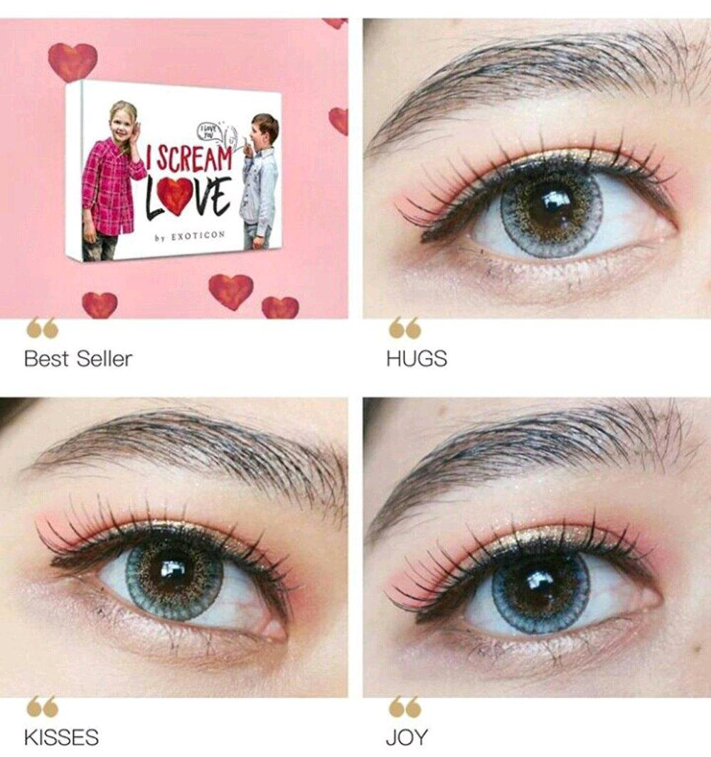 Softlens X2 I Scream Love (normal) By Grosirsoftlensku