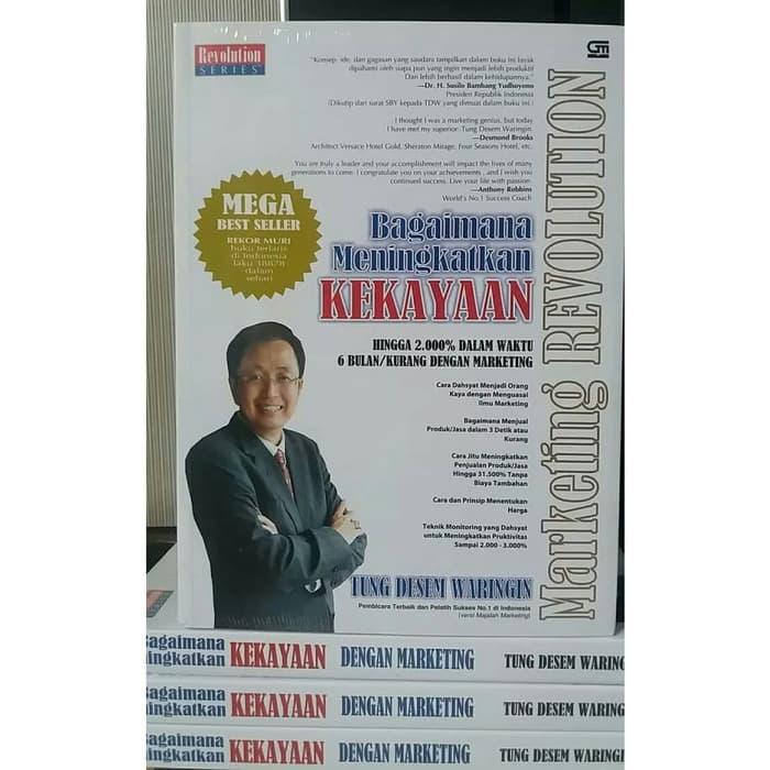 Buku Marketing Revolution Tung Desem Waringin
