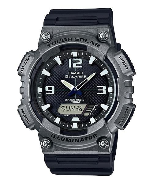 Casio Jam Tangan Pria Casio Tough Solar AQ-S810W-1A4VDF Digital Analog Original Watch