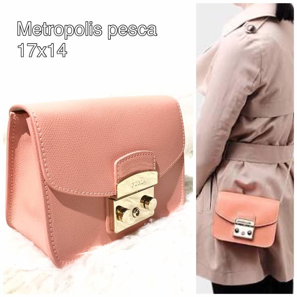 Jual Tas FURLA Authentic Crossbody Metropolis Pesso