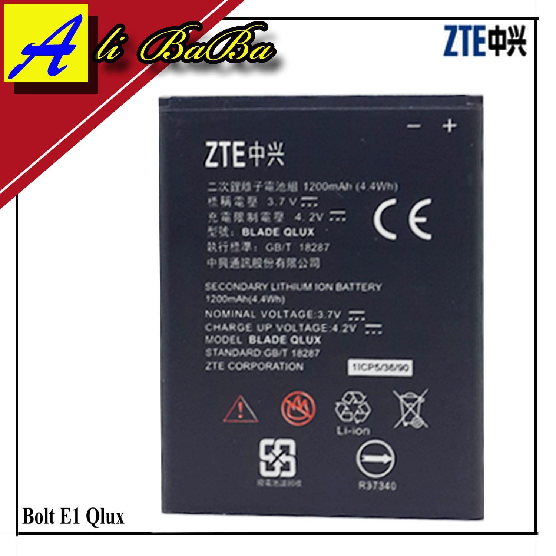 Baterai Handphone ZTE Bolt E1 ZTE Blade Q Lux Battery ZTE E1 Batre ZTE Blade Q Lux Battery ZTE Bolt E1