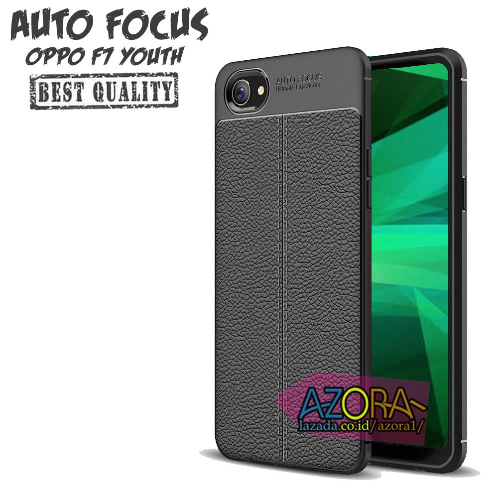 Case Auto Focus Oppo F7 Youth Leather Experience Slim Ultimate