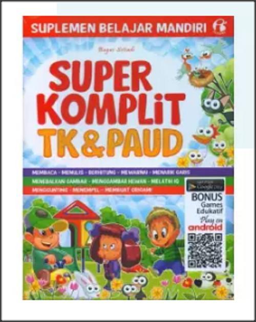 Super Komplit TK & PAUD - Buku Pendidikan Anak Usia Dini