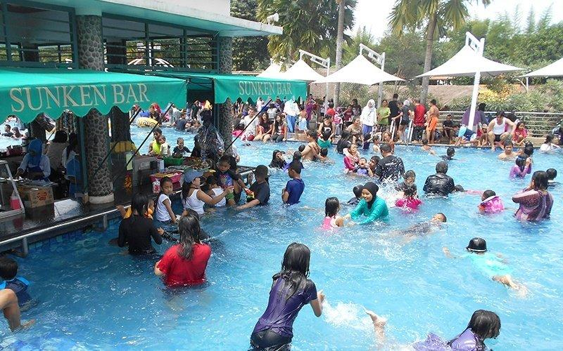 Pulo Saiji Water Adventure Tiket Masuk Saiji Water Adventure untuk 8 Orang