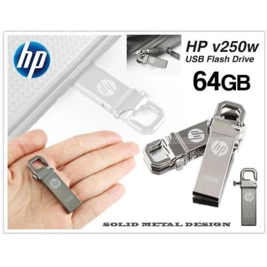 AZK Shop FlashDisk USB Flash Drive HP Stainles v250w 64 GB Original