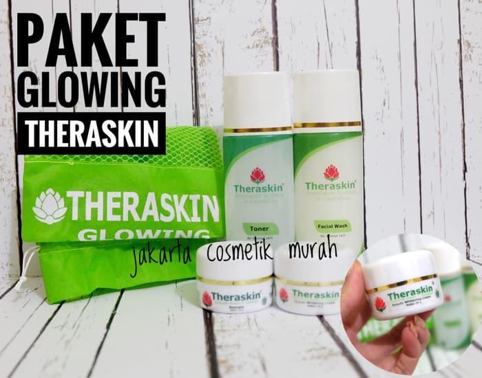 Termurah [PAKET GLOWING] CREAM THERASKIN PAKET GLOWING