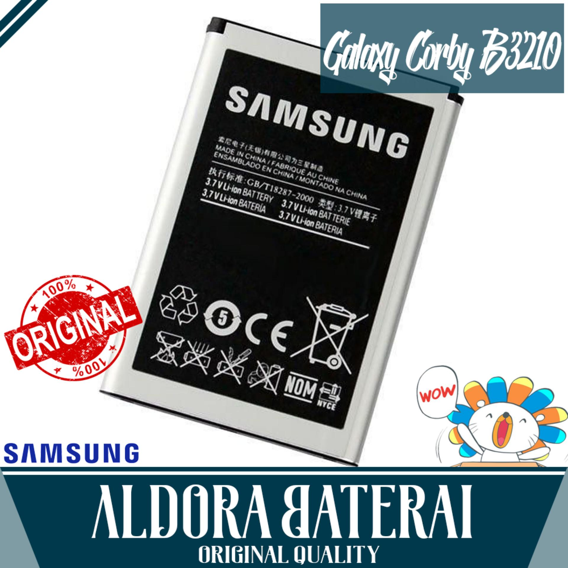 Aldora Baterai For Samsung Galaxy Corby txt B3210 / C3050 / M608 High Grade Battery SEIN Quality
