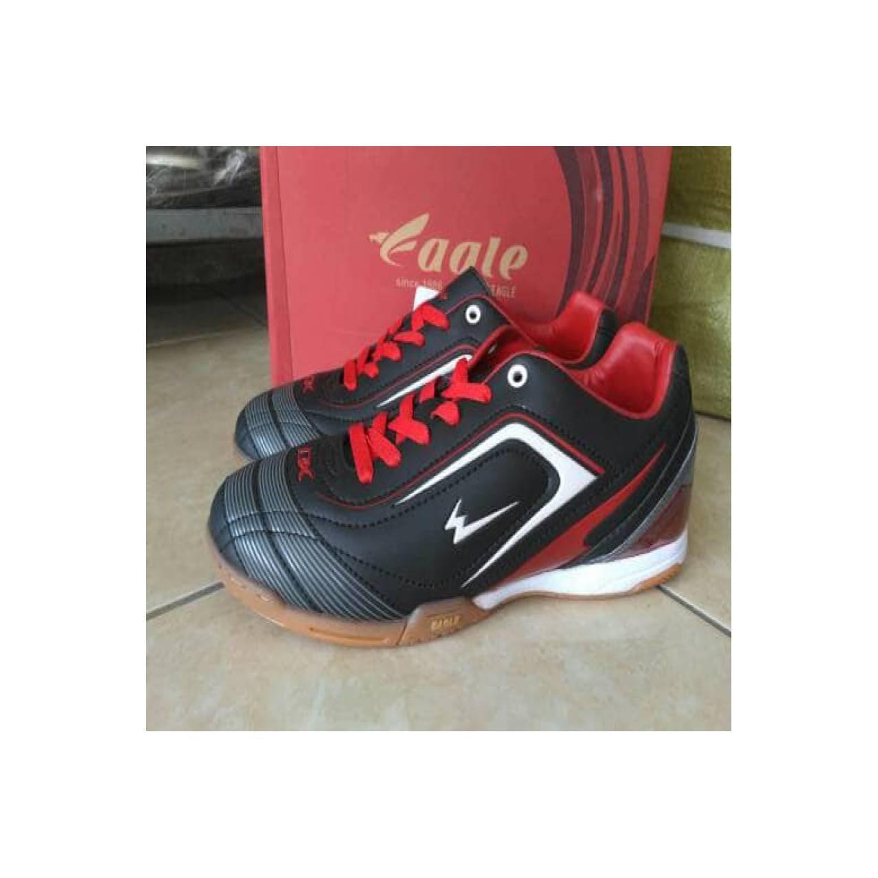 Sepatu futsal EAGLE new ventura black